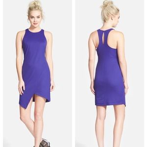 Leith Crepe Tank Cocktail Dress